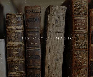 gif, harry potter, and history of magic image