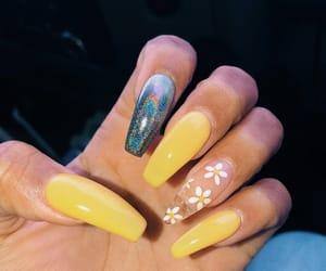 acrylics, inspo, and nails image