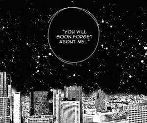 black and white, quotes, and manga image