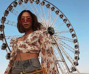coachella, fashion, and indie image