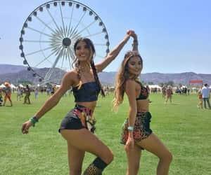 festival, girl, and coachella image