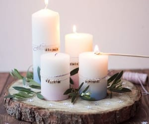 candle, home decor, and romantic image