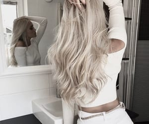 beautiful, blond, and clothes image