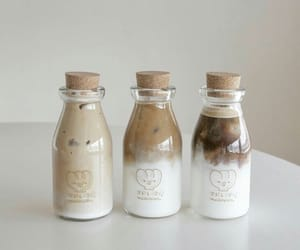 drink, aesthetic, and beige image
