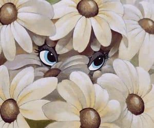 bambi, flowers, and disney image