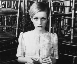 twiggy, model, and vintage image