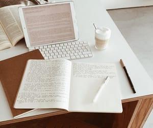 book, studyblr, and coffee image