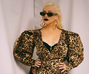 animal print, christina aguilera, and liberation image