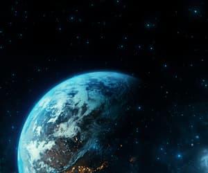 background, gif, and moon image