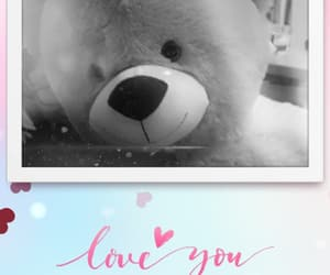 peluche, amour, and nounours image