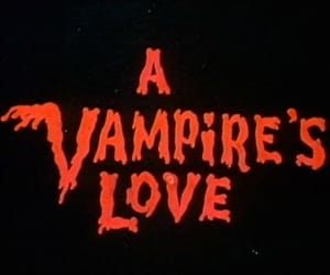 vampire, red, and aesthetic image
