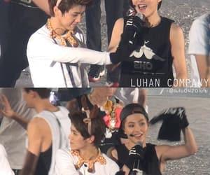 luhan, xiumin, and lumin image
