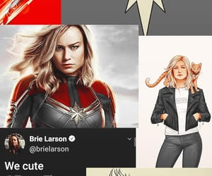 Avengers, Marvel, and brie larson image