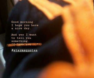 good morning, I Love You, and Nice day image