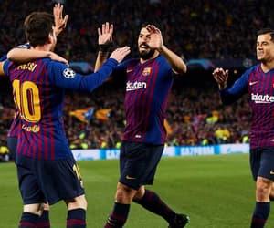 Barca, messi, and football image