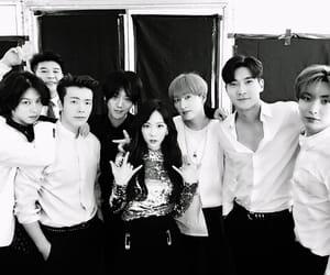 eunhyuk, girls generation, and Sunny image