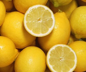 yellow, food, and lemon image