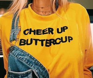 yellow, aesthetic, and buttercup image