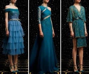 blue, high heel, and Queen image