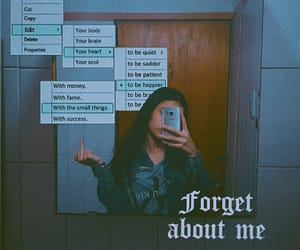 aesthetic, mirror, and edit image