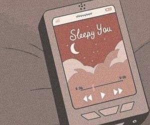 aesthetic, anime, and sleep image