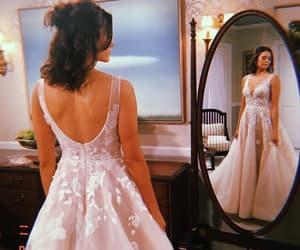 mirror, Nina Dobrev, and wedding image