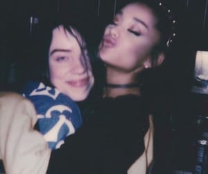 ariana grande and billie eilish image