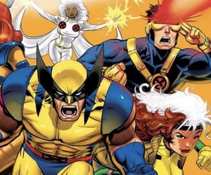 90s, Marvel, and x-men image