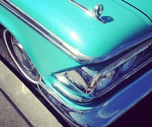 automobiles, blue, and vintage image
