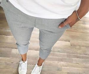 fashion, Blanc, and grey image