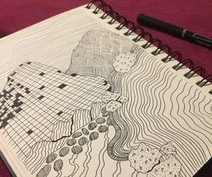 black, draw, and fun image