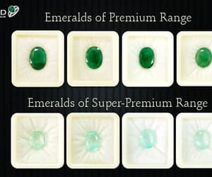 certified emerald stone and colombian emerald stone image