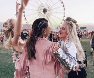 coachella, friends, and fashion image