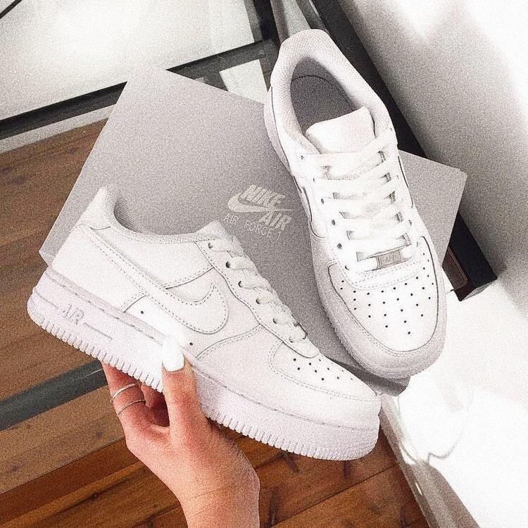 trendy streetwear sneakers (nike air