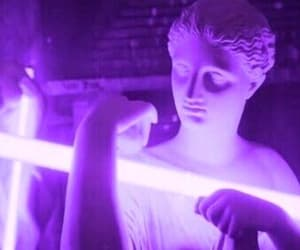 purple, aesthetic, and neon image