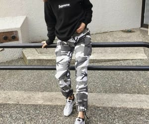 fashion, outfit, and supreme image