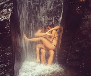 couple, travel, and tropical image