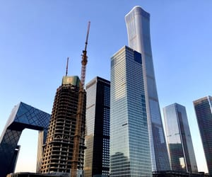 architecture, beijing, and building image