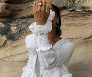 fashion, white, and jewelry image