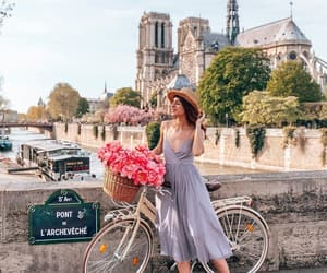 fashion, girl, and notre dame image