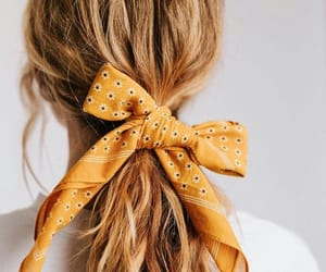 hair, beauty, and yellow image
