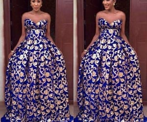African, occasion, and style stylish chic image