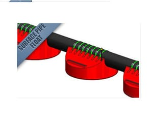 surface pipe floats and line floats image