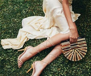 boho, cult gaia, and heels image