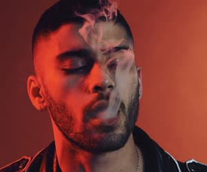 zayn, zayn malik, and smoke image
