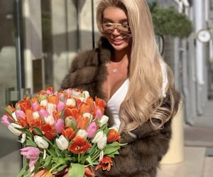 blonde, iblonde, and flower image