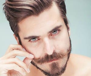 hair, hairtransplant, and mustache image