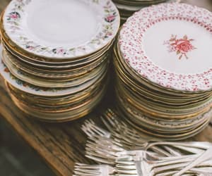 dishes, vintage, and antique image