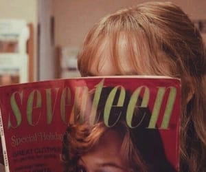 red, Seventeen, and vintage image
