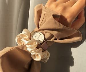 accessories, hands, and watch image